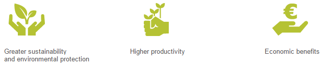 sustainability productivity economic benefits