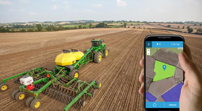 Έξυπνη γεωργία σημαίνει αυτοματοποιημένη και συνδεδεμένη γεωργία!