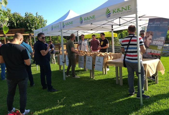 Εκδήλωση - Έκθεση ποικιλιών Πατάτας από την K&N EΥΘΥΜΙΑΔΗΣ ΑΒΕΕ