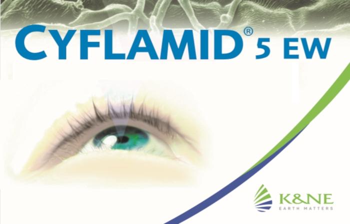 Cyflamid® 5 EW -  Η άλλη ματιά στην Καταπολέμηση του Ωιδίου