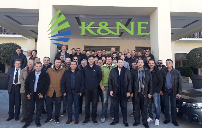 Στιγμές από την εκδήλωση Βαμβακιού της Κ&N Ευθυμιάδης στα Ιωάννινα