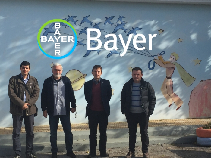 Δωρεά της Bayer σε δημοτικό σχολείο της Θήβας
