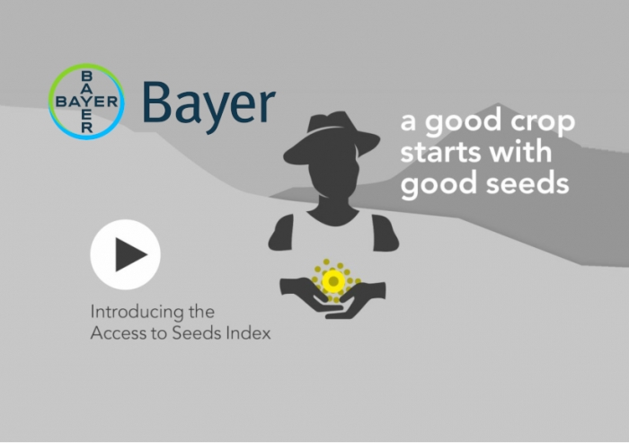 Η Bayer, στο νούμερο 3 του παγκόσμιου Δείκτη Πρόσβασης σε Σπόρους!