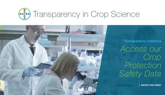 Δέσμευση της Bayer για διαφάνεια: Πάνω από 300 περιλήψεις μελετών για την ασφάλεια του glyphosate έχουν αναρτηθεί διαδικτυακά!